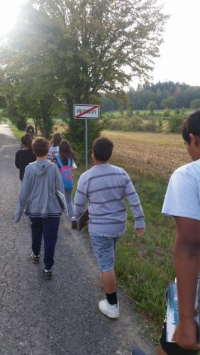 11. 9. 2018 - Cvičení v přírodě II. třída – I. pololetí 2018/2019