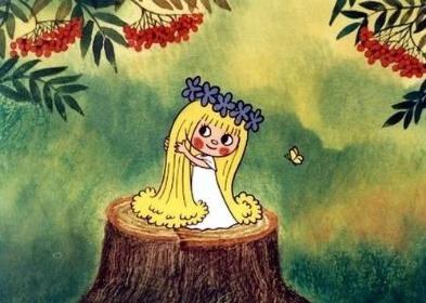 Víla Amálka - ilustrační obrázek