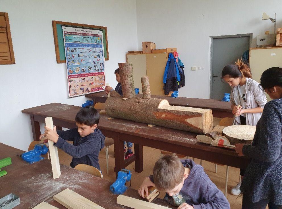 Výroba mašinky