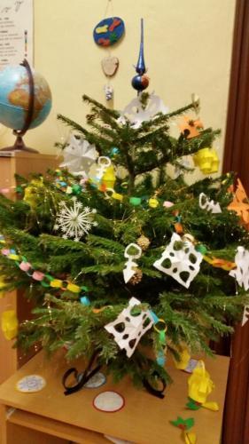 22. 12. 2017 - Vánoční besídka – II. třída