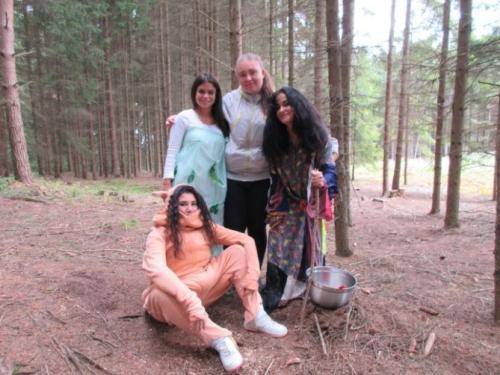 Pohádkový les v Heřmaničkách