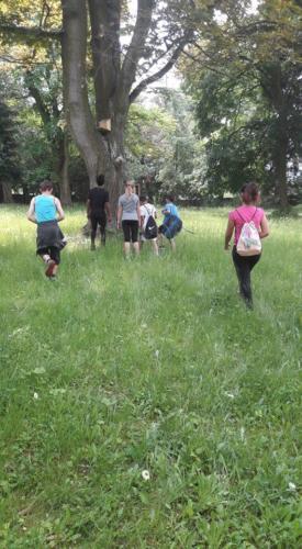 Cvičení v přírodě II. pololetí- III. třída