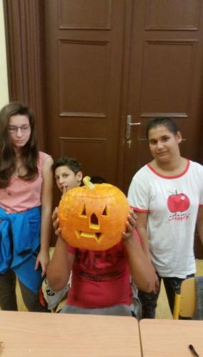 Halloweenské dýně - tematický den